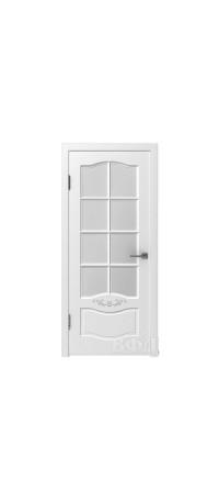 Дверь Владимирская фабрика дверей 'Прованс 2' Белая эмаль 47ДО0 внутри