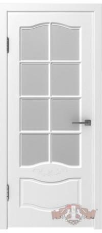 Дверь Владимирская фабрика дверей 'Прованс 2' Белая эмаль 47ДО0 снаружи