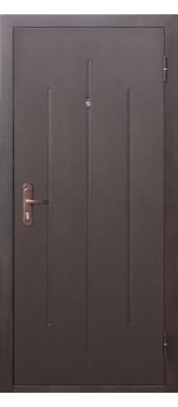 СЕЙФ-ДВЕРЬ «СТРОЙГОСТ» 5-1 Металл/Металл (со штампом) внутри