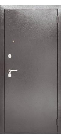 СЕЙФ-ДВЕРЬ АРГУС «ДА-1 КАПУЧИНО АНТИК СЕРЕБРО» Антик серебро/Капучино тисненый внутри