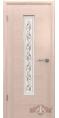 Дверь Владимирская фабрика дверей 'РОНДО' Беленый дуб 8ДО5 Стекло 'Вьюн' белое матированное