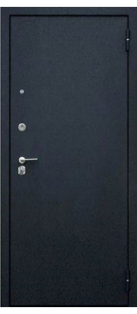 СЕЙФ-ДВЕРЬ АРГУС «ДА-84/1 СЕНАТОР ДУБ РУСТИКАЛЬНЫЙ» (Черный шелк) внутри