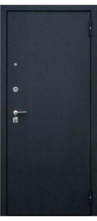 СЕЙФ-ДВЕРЬ АРГУС «ДА-84/1 СЕНАТОР ОРЕХ СЕДОЙ СВЕТЛЫЙ» (Черный шелк) внутри