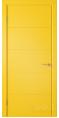 Дверь Владимирская фабрика дверей 'Тривиа' Желтая эмаль 50ДГО8