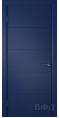Дверь Владимирская фабрика дверей 'Тривиа' Синяя эмаль 50ДГО9