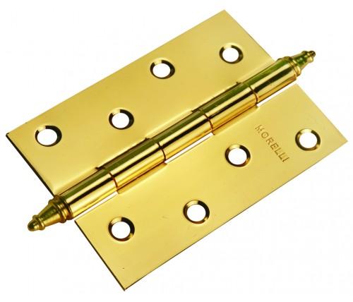 Петля универсальная с короной, MORELLI, Цвет - Золото, MS100*70*2.5-U PG