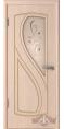 Дверь Владимирская фабрика дверей 'ГРАЦИЯ' Беленый дуб 10ДО5 Бронза 'Модерн' матированное с фацетами