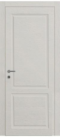 ДВЕРИ MODENA DOOR 'Корона Wood Line 2' Белая эмаль/Шпон натур (ДГ) снаружи