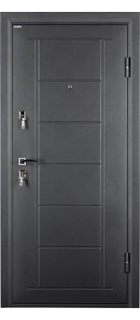 Металлическая дверь СТАЙЛ (Беленый дуб) внутри