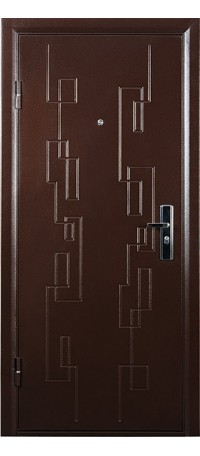 Металлическая дверь СИТИ 2 внутри