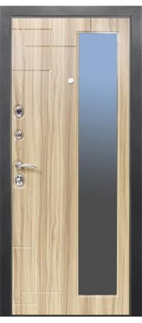 Металлическая дверь ДИПЛОМАТ снаружи