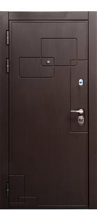 Металлическая дверь ДИПЛОМАТ внутри