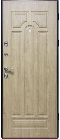 Металлическая дверь СОЛОМОН JM 777 снаружи