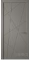 Дверь Владимирская фабрика дверей 'Флитта' Темно серая эмаль 26ДГО3