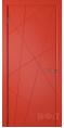 Дверь Владимирская фабрика дверей 'Флитта' Красная эмаль 26ДГО7