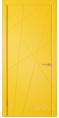Дверь Владимирская фабрика дверей 'Флитта' Желтая эмаль 26ДГО8