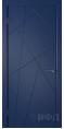 Дверь Владимирская фабрика дверей 'Флитта' Синяя эмаль 26ДГО9