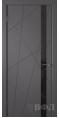 Дверь Владимирская фабрика дверей 'Флитта' Графит эмаль 26ДОО6 Лакобель черное