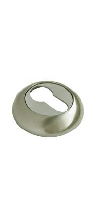 Накладка на ключевой цилиндр RUCETTI RAP KH SN/CP Цвет - Белый никель/Хром полированный снаружи