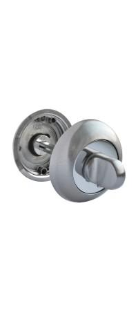 Завертка сантехническая RUCETTI RAP WC SN/CP Цвет - Белый никель/полированный хром снаружи