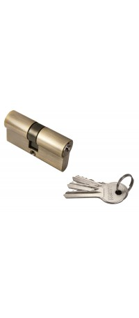 Ключевой цилиндр RUCETTI ключ/ключ (60 мм) R60C AB Цвет - Антчная бронза снаружи