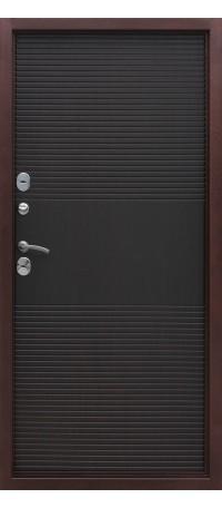 СЕЙФ-ДВЕРЬ MODENA DOOR «ISOTERMA» 10 см. Медный антик/Венге снаружи