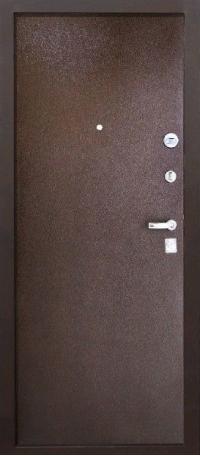 СЕЙФ-ДВЕРЬ MODENA DOOR «ТОЛСТЯК» 10 см. Металл/Металл  снаружи