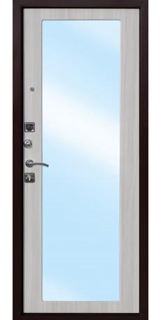СЕЙФ-ДВЕРЬ MODENA DOOR «ЦАРСКОЕ ЗЕРКАЛО» MAXI, Дуб Санома снаружи