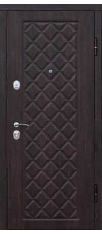 СЕЙФ-ДВЕРЬ MODENA DOOR «KAMELOT» Винорит Беленый дуб/Черный муар внутри