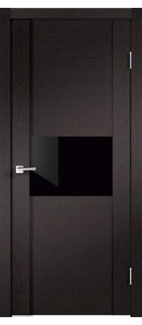 Modern 1 Дуб черный, стекло Лакобель Black ДО снаружи