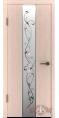 Дверь Владимирская фабрика дверей 'ТОКИО' Беленый дуб 16ДО5 Зеркало 2 серебро