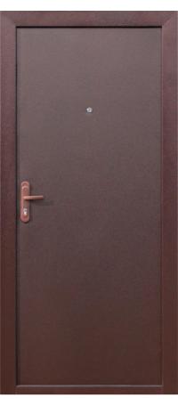 СЕЙФ-ДВЕРЬ «СТРОЙГОСТ» 5-1 Металл/Металл  снаружи