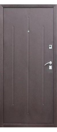 СЕЙФ-ДВЕРЬ «СТРОЙГОСТ» 7-2 Металл/Металл 3 петли