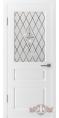 Дверь Владимирская фабрика дверей 'ЧЕСТЕР' 15ДО0, белая эмаль (стекло №1)