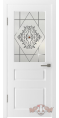 Дверь Владимирская фабрика дверей 'ЧЕСТЕР' 15ДО0, белая эмаль (стекло №4)