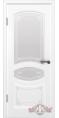 Дверь Владимирская фабрика дверей 'ВЕРСАЛЬ' 13ДР0, белая эмаль (стекло №1)