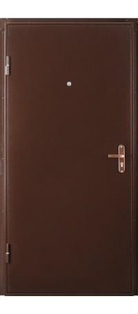 Металлическая дверь ПРОФИ внутри