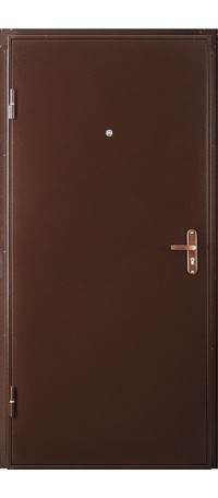 Металлическая дверь ПРОФИ IS снаружи