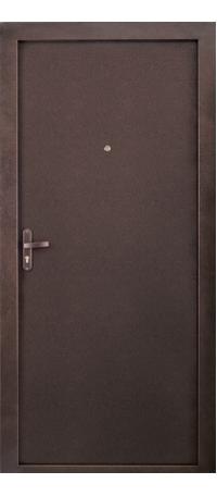 Металлическая дверь РОНДО внутри