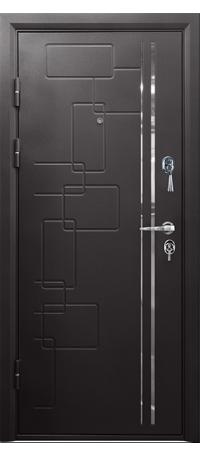 Металлическая дверь КАМЕЛОТ внутри