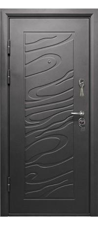Металлическая дверь ДЖАЗ внутри