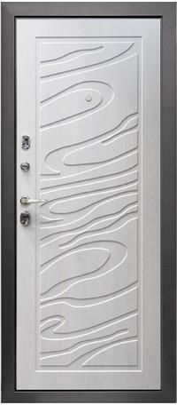 Металлическая дверь ДЖАЗ снаружи
