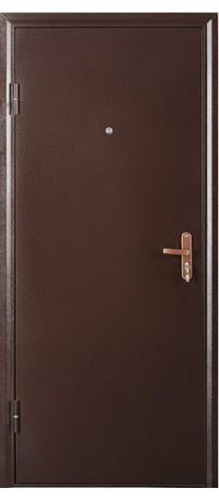 Металлическая дверь СПЕЦ внутри