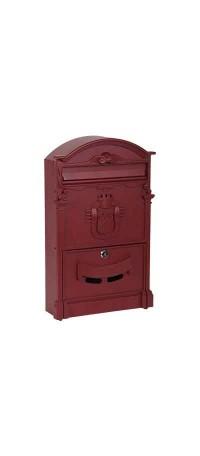 Почтовый ящик К-31091Ф-3 Красное вино снаружи
