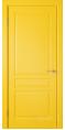 Дверь Владимирская фабрика дверей 'Стокгольм' Желтая эмаль 56ДГ8