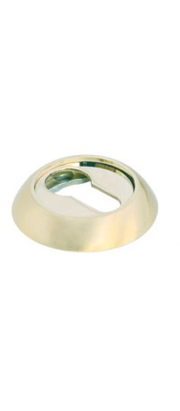 Накладка на ключевой цилиндр MORELLI MH-KH SG/GP Цвет - Матовое золото/золото снаружи