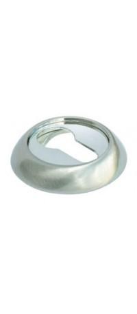 Накладка на ключевой цилиндр MORELLI MH-KH SN/CP Цвет - Белый никель/полир. хром снаружи
