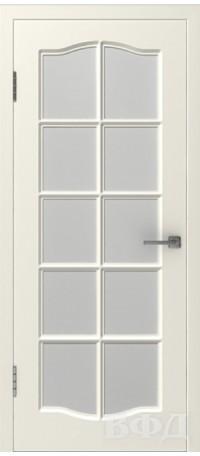Дверь Владимирская фабрика дверей 'Прованс 1' Слоновая кость 46ДО01 снаружи