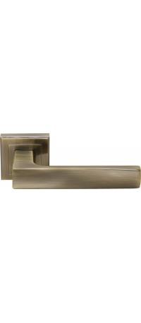 Дверные ручки RUCETTI RAP 14-S AB Цвет - Античная бронза снаружи