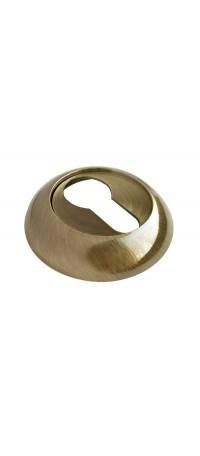 Накладка на ключевой цилиндр RUCETTI RAP KH AB Цвет - Античная бронза снаружи